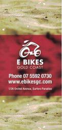 E Bikes Gold Coast