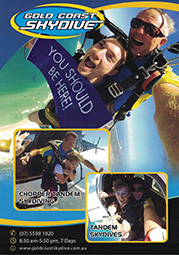 Gold Coast Skydive A4